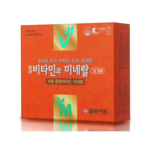 [일양약품] 비타민과미네랄(6개월분)