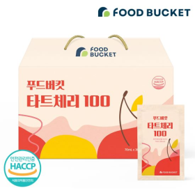푸드버킷 몽모랑시 타트체리즙 100 30팩 1박스