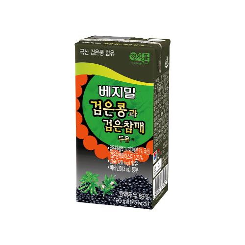 베지밀 검은콩과 검은참깨 190mlx72팩