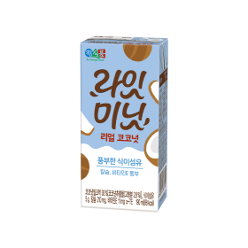 정식품 라잇미닛 리얼 코코넛 190mlx32팩