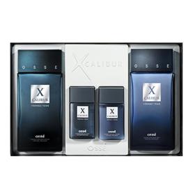오쎄 엑스칼리버 남성용 기초 2종세트, 스킨 130ml+로션 130ml