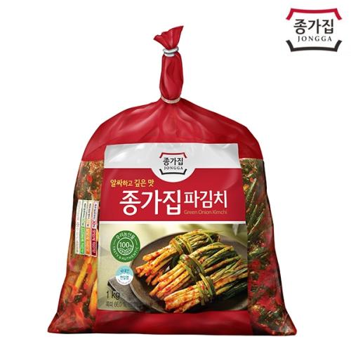 종가집 파김치1kg(비닐)