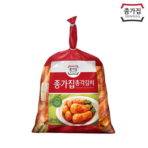 종가집 총각김치 2.5kg(비닐)