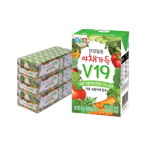 건강 담은 야채가득 V19 145mlx72팩