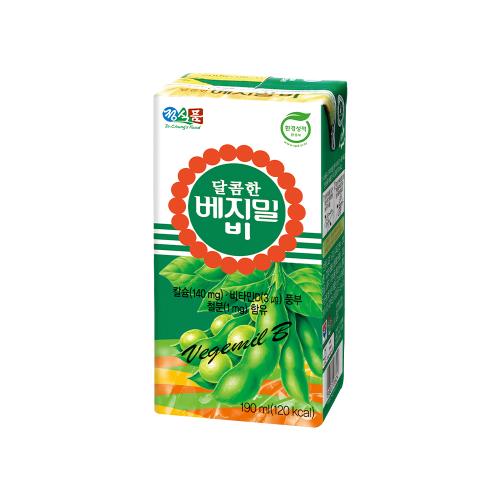 달콤한 베지밀 B(비) 190mlx72팩