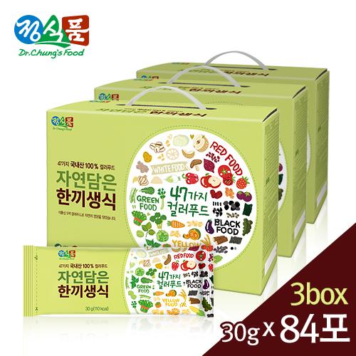 정식품 자연담은 한끼생식 30gx84포