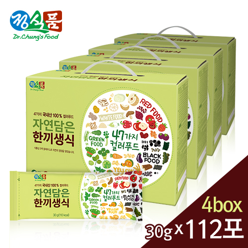 정식품 자연담은 한끼생식 30gx112포