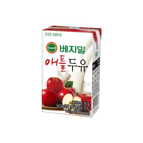 베지밀 애플두유 145ml×48팩
