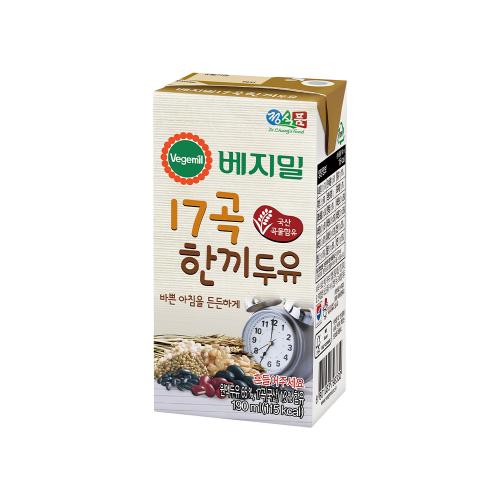 베지밀 17곡 한끼두유 190mlx48팩